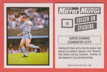 Coventry City Greg Downs